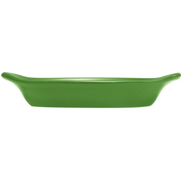 Hall China 30529324 Shamrock 15 oz. Colorations Oval Rarebit / Au Gratin Dish - 24/Case