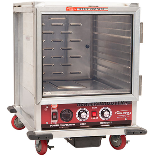 Winholt NHPL-1810/HH Half Size Undercounter Non-Insulated Holding / Proofing Cabinet