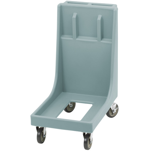 Cambro CD300H Slate Blue Camdolly for Cambro Camtainers and Camcarriers with Handle Main Image 1