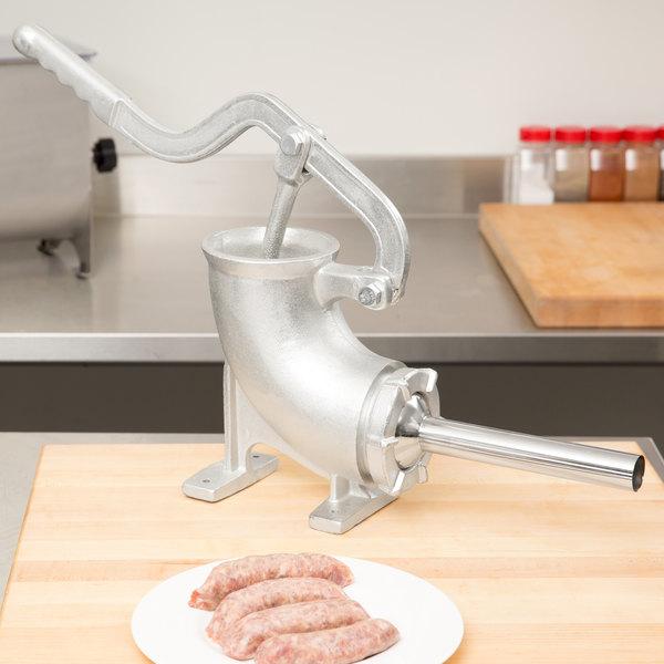 Weston 36-5005-W 5 lb. Manual Sausage Stuffer