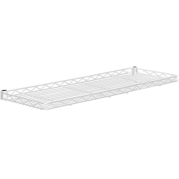 "Metro 1260CSNW White Cantilever Shelf - 12"" x 60"" Main Image 1"