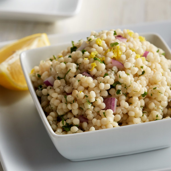 Del Destino Israeli Toasted Pearl Couscous 5 Lb Bag