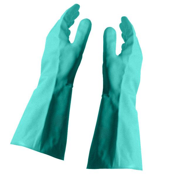 Nitrile Glove Flock Lined 15 Mil - Medium