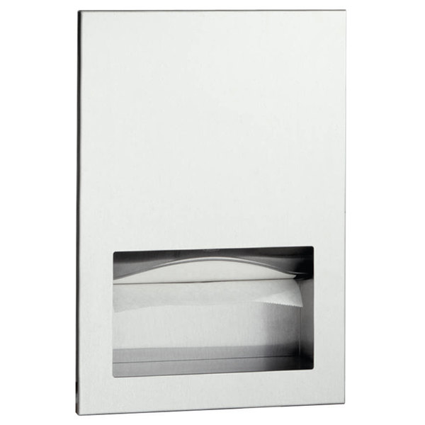 Bobrick B-35903 TrimLineSeries C Fold or Multifold Recessed Paper Towel Dispenser