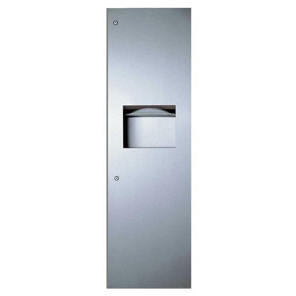 Bobrick B-39003 TrimLineSeries Recessed Paper Towel Dispenser / Waste Receptacle Main Image 1