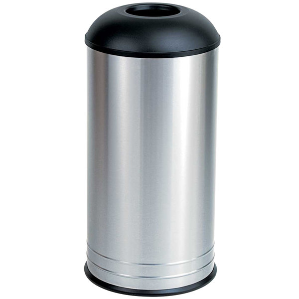 Bobrick B-2300 Floor Standing 18 Gallon Dome Top Waste Receptacle
