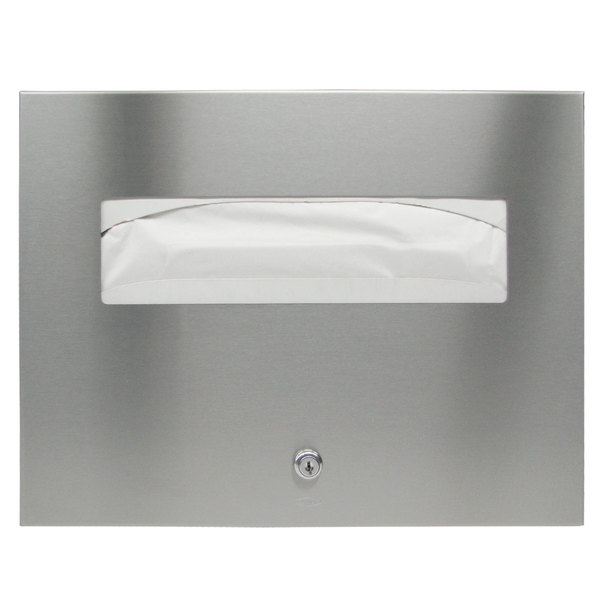Bobrick B-3013 TrimLineSeries Recessed Toilet Seat Cover Dispenser