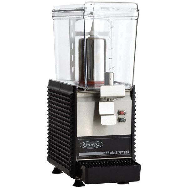 Omega OSD10 Single 3 Gallon Bowl Refrigerated Beverage Dispenser Main Image 1