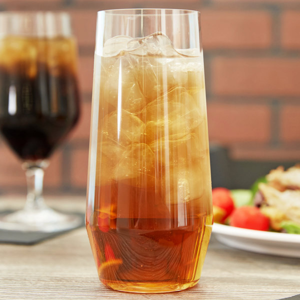 Carlisle 4950507 Astaire 18 oz. Clear Plastic Iced Tea Glass - 12/Case