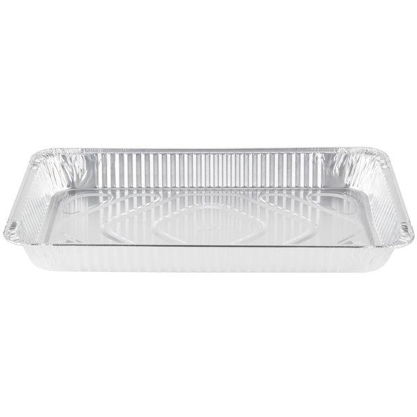 Durable Packaging 7800-70 Full Size Heavy Duty Foil Steam Table Pan Medium Depth 2 3/16 inch - 50/Case