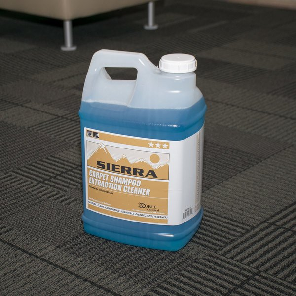 Sierra by Noble Chemical 2.5 gallon / 320 oz. Carpet Shampoo Extraction Cleaner - 2/Case
