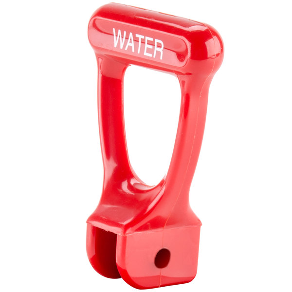 Bunn 07099.0000 Red Water Faucet Handle for Hot Water Dispensers & Coffee Urns Main Image 1