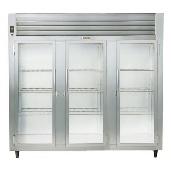 Traulsen AHT332WUT-FHG Three Section Glass Door Reach In Refrigerator - Specification Line
