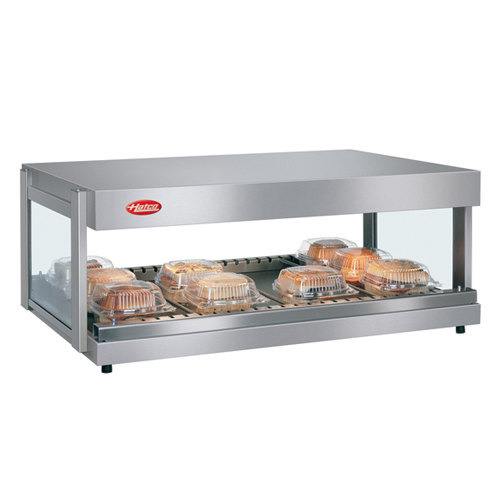 "Hatco GRSDH-60 Glo-Ray 60"" Horizontal Single Shelf Merchandiser - 120/208V"