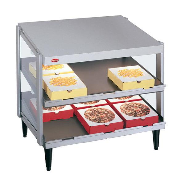 """Hatco GRPWS-2424D Glo-Ray 24"""" Double Shelf Pizza Warmer - 1200W"""