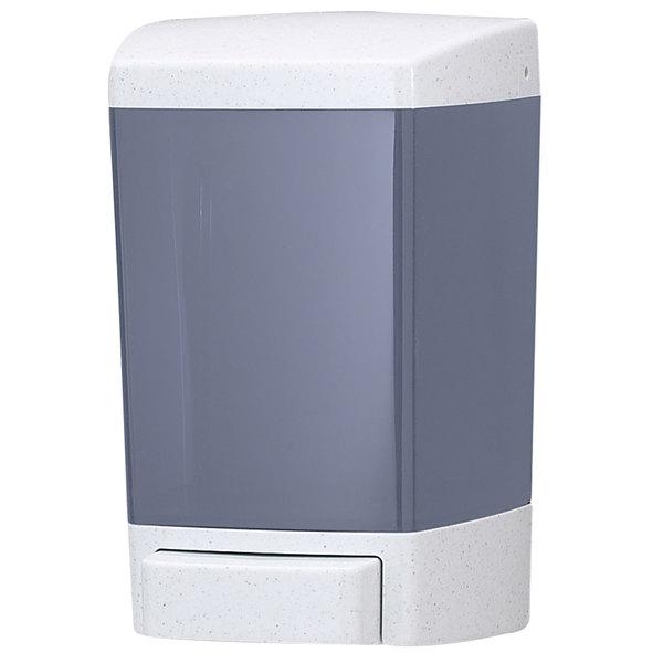 San Jamar S46TBL 46 oz. Bulk Soap Dispenser - Arctic Blue
