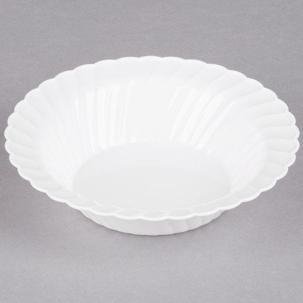 WNA Comet CWB10180W Classicware 10 oz. White Plastic Bowl - 180/Case