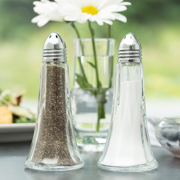 Libbey 70022 Winchester 1.5 oz. Salt and Pepper Shaker - 24/Case