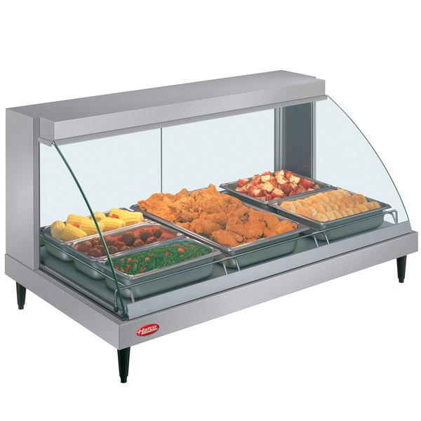 "Hatco GRCD-3P 45"" Glo-Ray Single Shelf Merchandiser - 1005W"