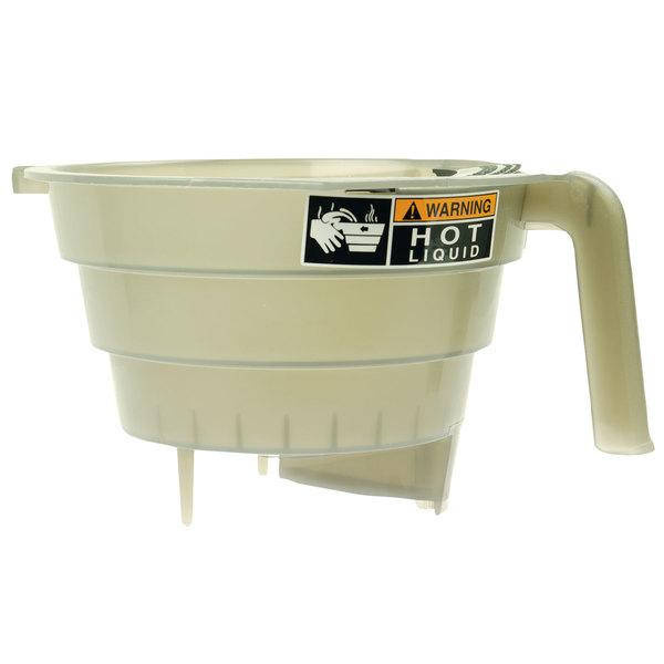 Bunn 03021.0005 Translucent Quick Dispense Tea Funnel for Tea Brewers
