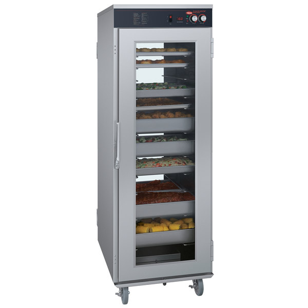 Hatco FSHC-17W2 Flav-R-Savor Two Door Pass-Through Humidified Holding Cabinet - 208V Main Image 1