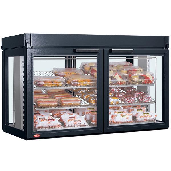 Hatco LFST-48-2X Flav-R-Savor Four Door Large Capacity Merchandising Cabinet - 120/208V, 2150W