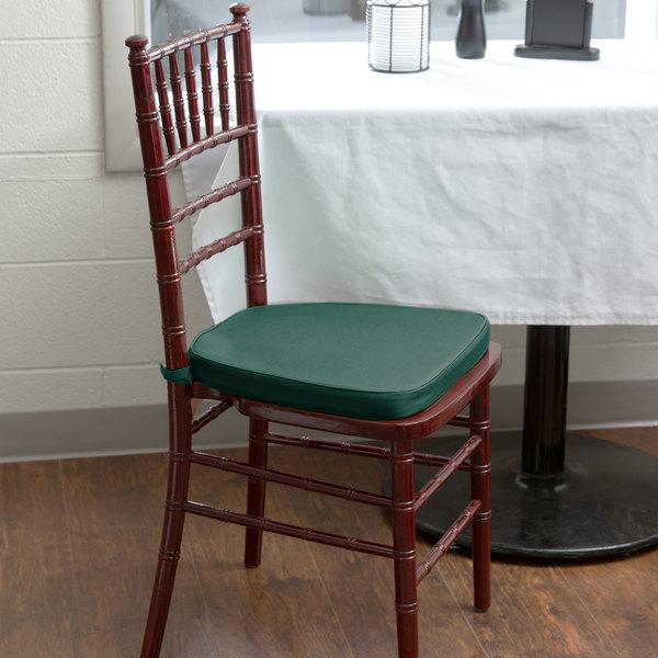 lancaster table seating hunter green chiavari chair cushion 1 3
