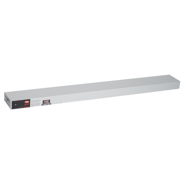 "Hatco GRAH-54 Glo-Ray 54"" Aluminum Single High Wattage Infrared Warmer with Toggle Controls - 240V, 1250W"