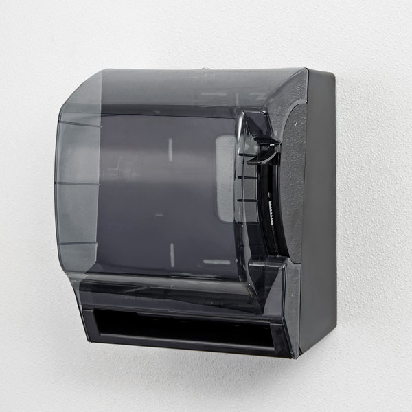 Black Roll Towel Dispenser with Lever Main Image 13