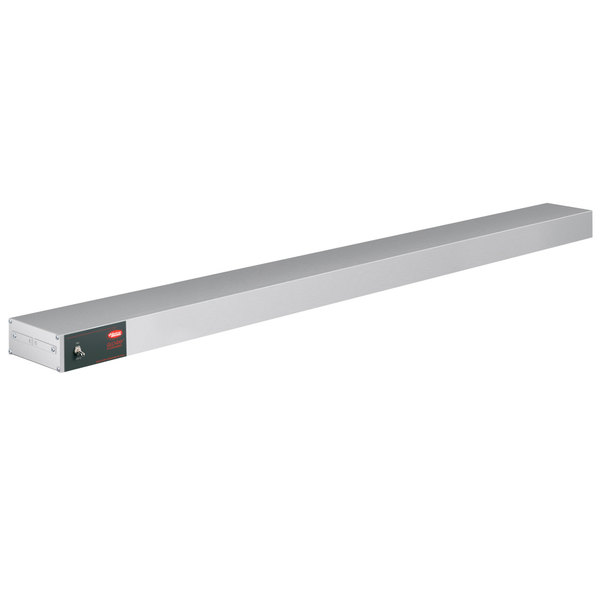 "Hatco GRAH-120 Glo-Ray 120"" Aluminum Single High Wattage Infrared Warmer with Toggle Controls - 240V, 2800W"