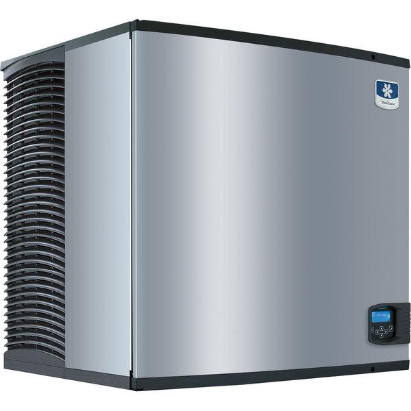 """Manitowoc IYF0900C Indigo Series QuietQube 30"""" Remote Condenser Half Size Cube Ice Machine - 816 lb. Main Image 1"""