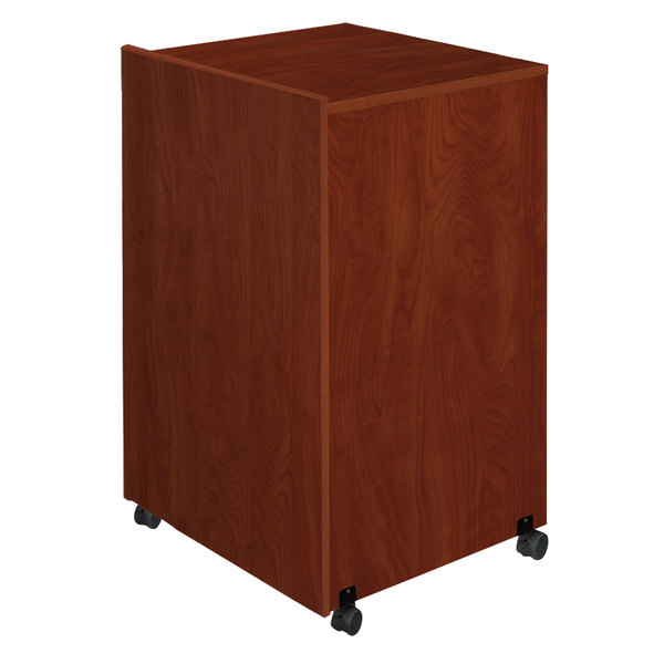 Oklahoma Sound 112-MY Lectern Base - Mahogany Finish