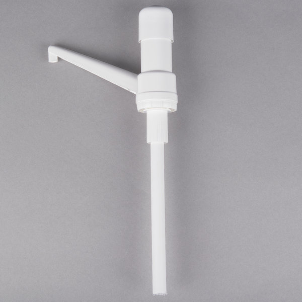 Carlisle 38600R 1 oz. Fixed Nozzle Pump with 9 inch Dip Tube