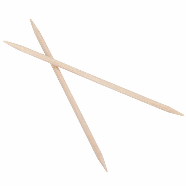 Royal Paper RIW15 Individually Wrapped Plain Toothpicks 1000//Box