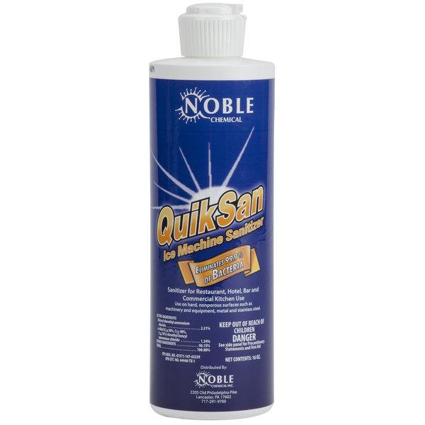 Noble Chemical 1 Pint / 16 oz. QuikSan Ice Machine Sanitizer - 12/Case