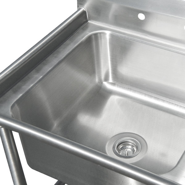 Advance Tabco 94 K6 18d Three Compartment Corner Sink With