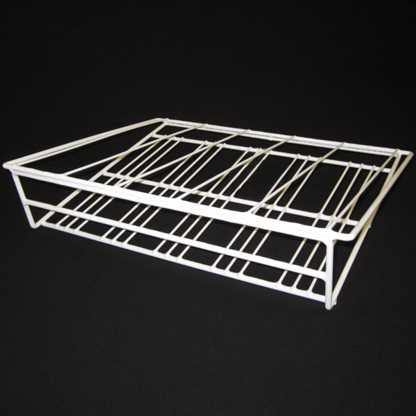 "Turbo Air 30278F0400 Gravity Feed Coated Wire Shelf - 20 1/4"" x 16"" - 5 Lanes Main Image 1"