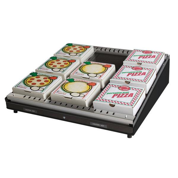 """Hatco GRPWS-4824 Black Glo-Ray 48"""" Single Shelf Pizza Warmer - 955W"""