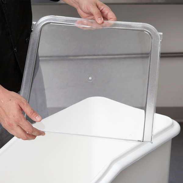 Cambro 60270 Lid Back Section for IBS27 Ingredient Bin Main Image 6