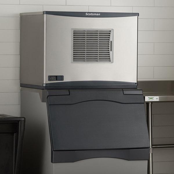 "Scotsman C0330SA-1 Prodigy Series 30"" Air Cooled Small Cube Ice Machine - 400 lb. Main Image 5"