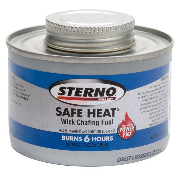 Sterno Products 10116 Wick Chafing Dish Fuel Canisters - 24/Case