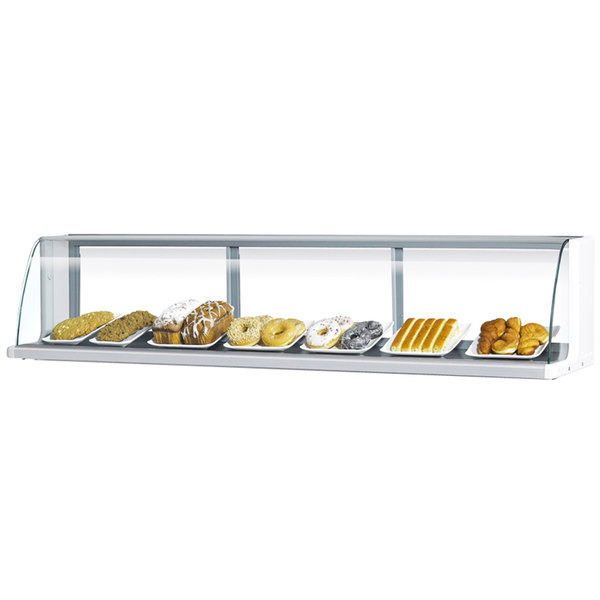 """Turbo Air TOMD-60-L 63"""" White Top Dry Display Case"""