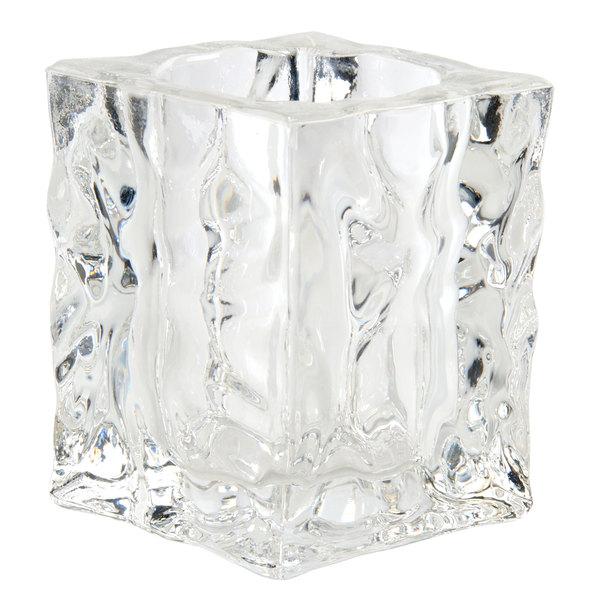 "Sterno 80138 4"" Ice Cube Liquid Candle Holder Main Image 1"
