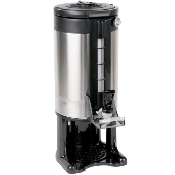 1.5 Gallon Stainless Steel Gravity Flow Vacuum-Insulated Coffee Server with Removable Base