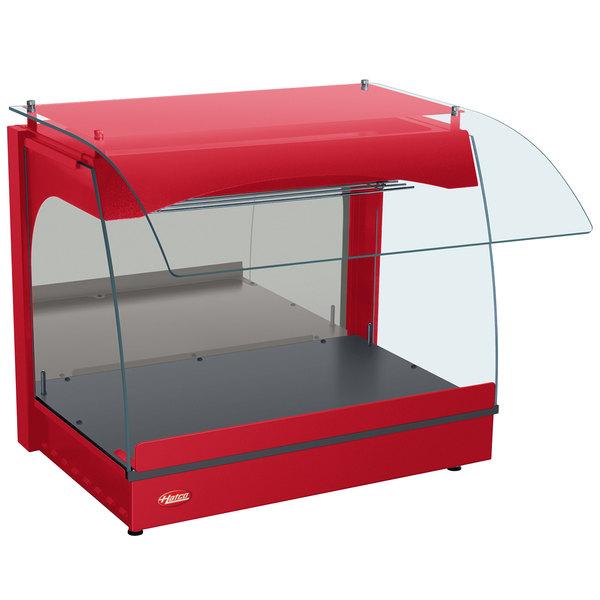 "Hatco GRCMW-1 Red Glo-Ray 22"" Curved Merchandising Warmer - 670W"