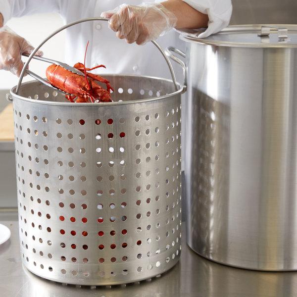 Vollrath 68273 Wear-Ever 80 Qt. Boiler / Fryer Set
