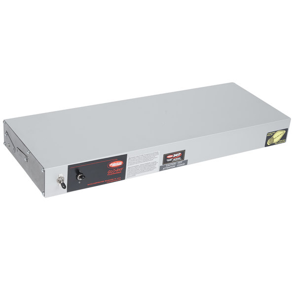"""Hatco GRAHL-24 24"""" Glo-Ray High Wattage Infrared Lighted Food Warmer with Toggle Controls - 120/208V, 620W"""