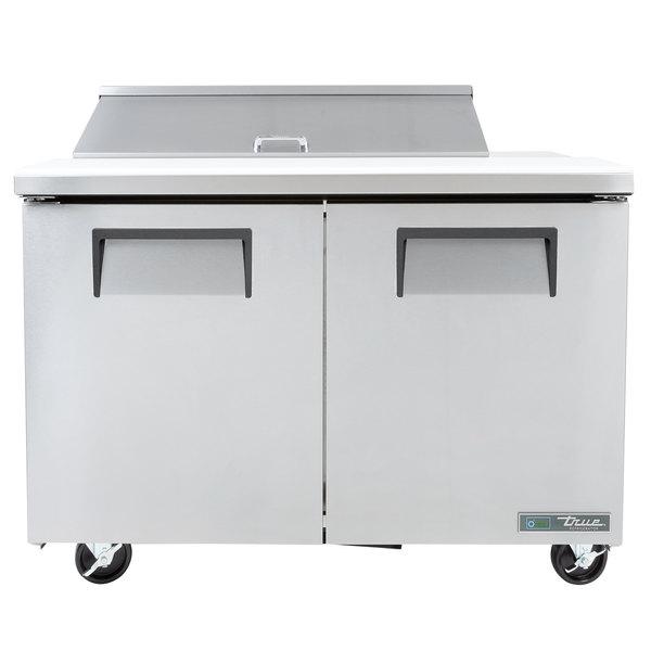 True TSSU-48-10 48 inch Two Door Sandwich / Salad Prep Refrigerator