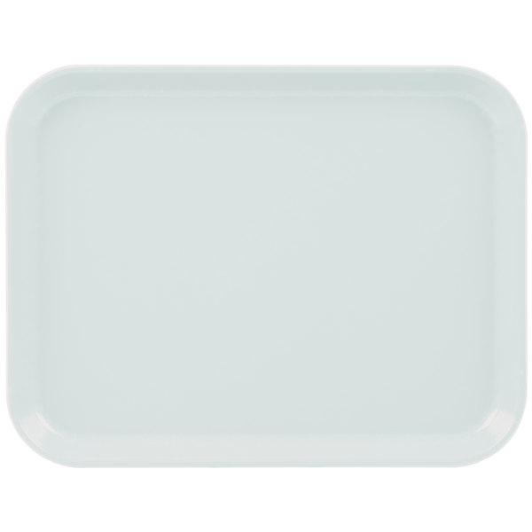 "Cambro 1014CL676 10"" x 14"" Steel White Camlite Tray - 12/Case Main Image 1"
