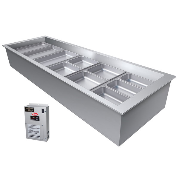 Hatco CWBX-2 Two Pan Refrigerated Drop In Cold Food Well without Condenser - 120V